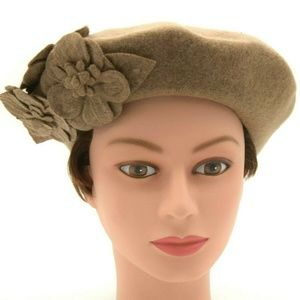 San Diego Hat Company Womens Wool Beret NWT